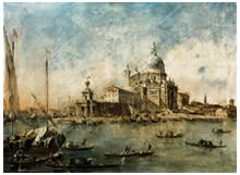 Un'opera di Francesco Guardi